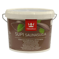Защитная пропитка для саун Tikkurila Supi Saunasuoja 2.7 л.